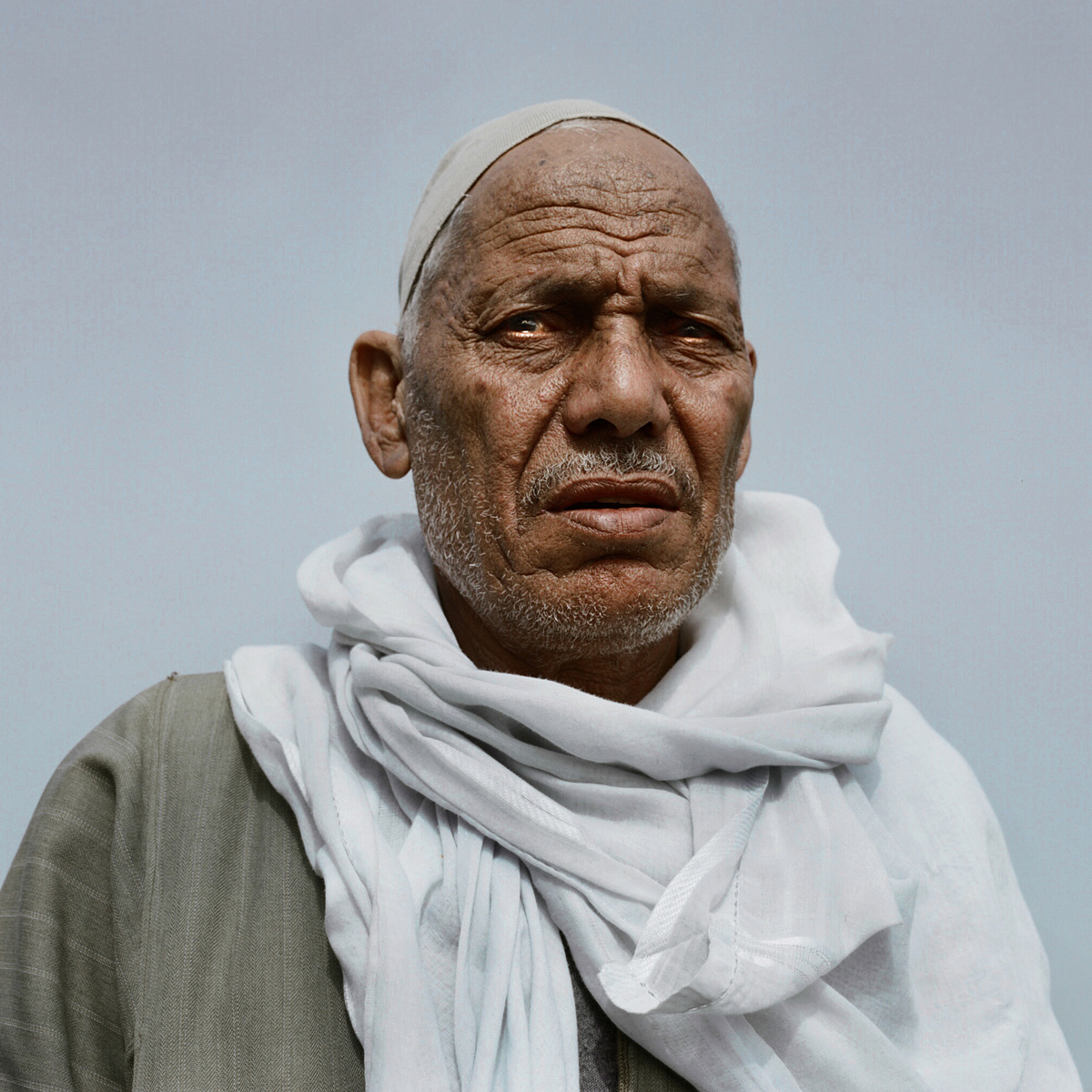 Alsayed Nasir, 67, an Egyptian farmer.