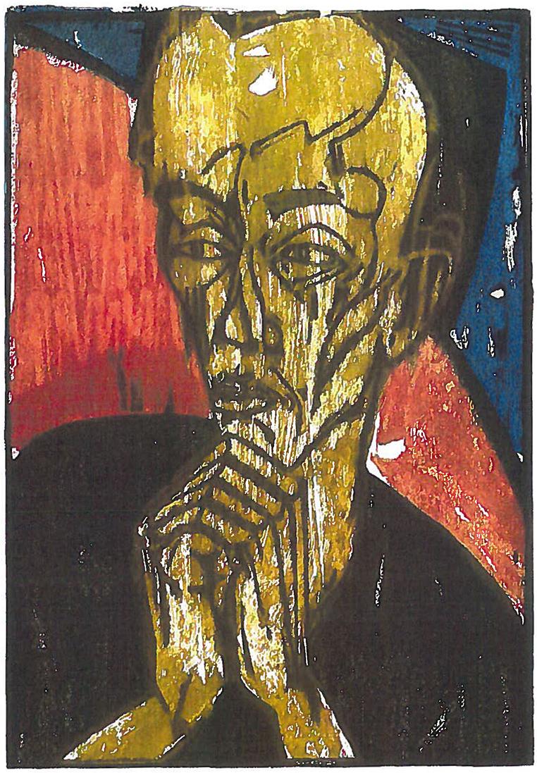 Erich HECKEL (1883-1970)Colored woodcut46,2 x 32,6 cmBest.-Kat.-Nr. 110Buchheim Museum der Phantasie Bernried am Starnberger See© Nachlass Erich Heckel, Hemmenhofen