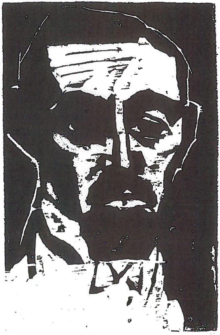 Emil NOLDE (1867-1956)Woodcut29,5 x 19,7 cmBest.-Kat.-Nr. 290Buchheim Museum der PhantasieBernried am Starnberger See© Nolde Stiftung Seebüll