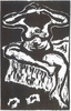 Karl SCHMIDT-ROTTLUFF (1884-1976)Woodcut39 x 25 cmBest.-Kat.-Nr. 357Buchheim Museum der PhantasieBernried am Starnberger See© VG Bild-Kunst, Bonn 2015