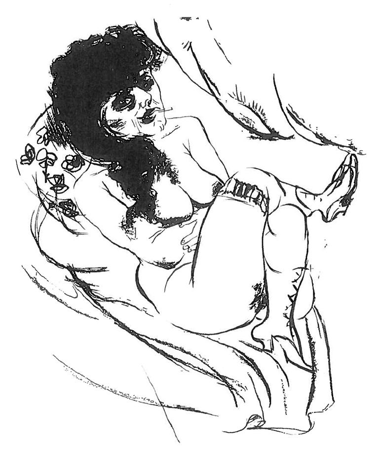 Otto DIX (1891-1969)Lithograph56 x 43,5 cmBest.-Kat.-Nr. 538Buchheim Museum der PhantasieBernried am Starnberger See© VG Bild-Kunst, Bonn 2015