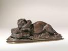 Antoine-Louis BARYE (1796-1875)Bronze11 x 27 cm