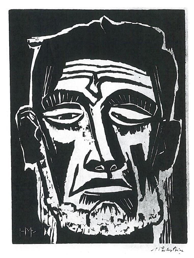 Max PECHSTEIN (1881-1955)Woodcut40,1 x 29,7 cmBest.-Kat.-Nr. 344Buchheim Museum der PhantasieBernried am Starnberger See© Pechstein, Hamburg/Tökendorf