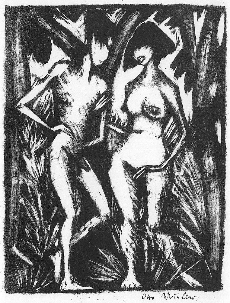 Otto MUELLER (1874-1930)Lithograph17,2 x 13,3 cmInv.-Nr. 1.00314Buchheim Museum der PhantasieBernried am Starnberger See