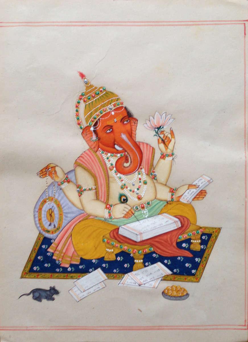 14-INDIAN-FOLKLORE-Ganesh