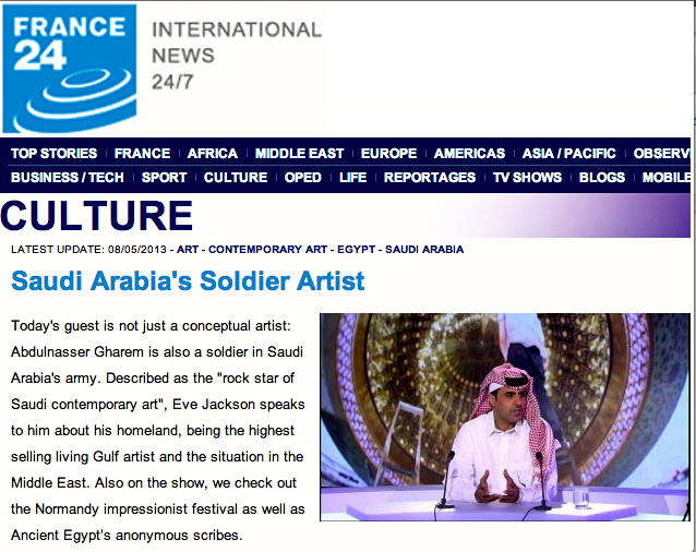 Saudi Arabia's Soldier ArtistPlease click here to see the program