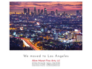 After a decade in Berlin, we moved to Los Angeles. Please read here my letter to our faithful gallery friends.Akim Monet, Los Angeleswww.akimmonetfinearts.com