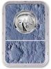 Clad, Copper-Nickel – CuNi - 11.34 Grams – g - Graded MS70Sonically sealed in an acrylic holder, with card numbered 4954103-186 and Apollo 11 Mission PatchMoon Core, with Mission PatchAcrylic holder: 3 5/16 x 2 3/8 x 3/8 in (8.5 x 6 x 1 cm) – Patch diameter: 4 1/8 in (10.5 cm)Please click HERE for full fact sheet