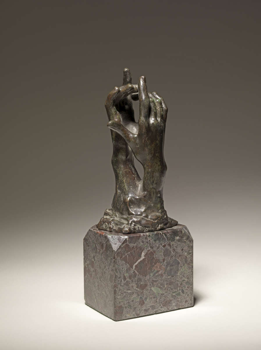 Auguste RODIN (1840-1917)Bronze4 3/4 x 2 1/4 x 1 3/4 in (12,1 x 5,7 x 4,5 cm)Ed. 18The present example was cast in December 1957 by Fonderie Georges Rudier, ParisInscribed 'A. Rodin', © by Musée RodinPlease click HERE for full fact sheet