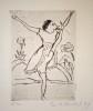 Erich Heckel (1883-1970)DrypointOn laid paper, {quote}FL Antique{quote} WatermarkEdition number 5/15Signed, dated and subsequently titled13,7 x 10 cm on 26,4 x 20,7 cmDube R 063KaltnadelradierungAuf Bütten mit Wasserzeichen {quote}FL Antique{quote}Exemplar 5/15Signiert, datiert und später betitelt13,7 x 10 cm auf 26,4 x 20,7 cmWVZ-Nr. Dube R 063