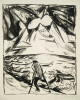 Erich Heckel (1883-1970)lithographon ribbed chamois laid paperpart of the editionsigned and dated bottom right26,2 x 21,5 on 51 x 35,2 cm Dube L 236 IVLithographie Auf geripptem chamois BüttenExemplar der AuflageUnten rechts signiert und datiert26,2 x 21,5 auf 51 x 35,2 cm Dube L 236 IV