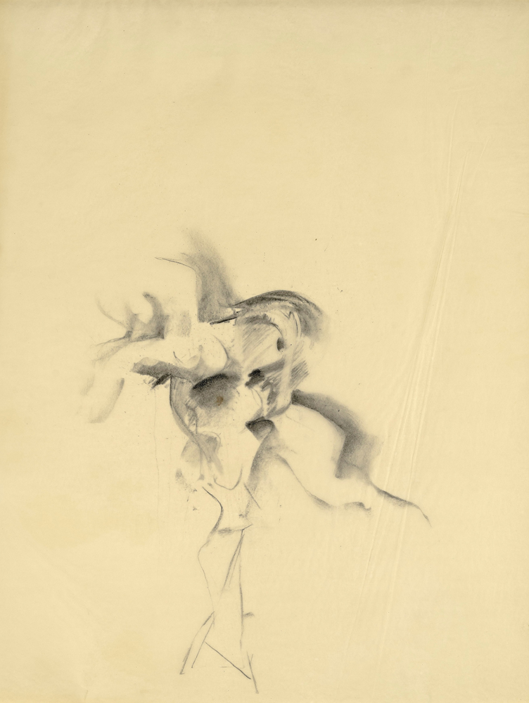 Willem DE KOONING (1904 – 1997)Charcoal on tracing paper61 x 47 cm (24 x 18 1/2 in.)With a letter by Mr. Michael Luyckx, the nephew of Elaine de Kooning who was the executor of the Estate of Elaine de Kooning, confirming that the work was sold directly by the Estate.ProvenanceElaine De KooningPrivate collection (Acquired from the estate of the above)