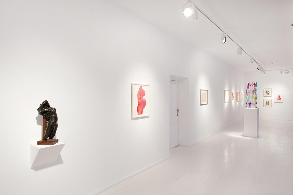 Auguste Rodin,  Louise Bourgeois, Ernst Ludwig Kirchner, Jonathan Borofsky, Daniel Spoerri, Otto Mueller, Louise Bourgeois