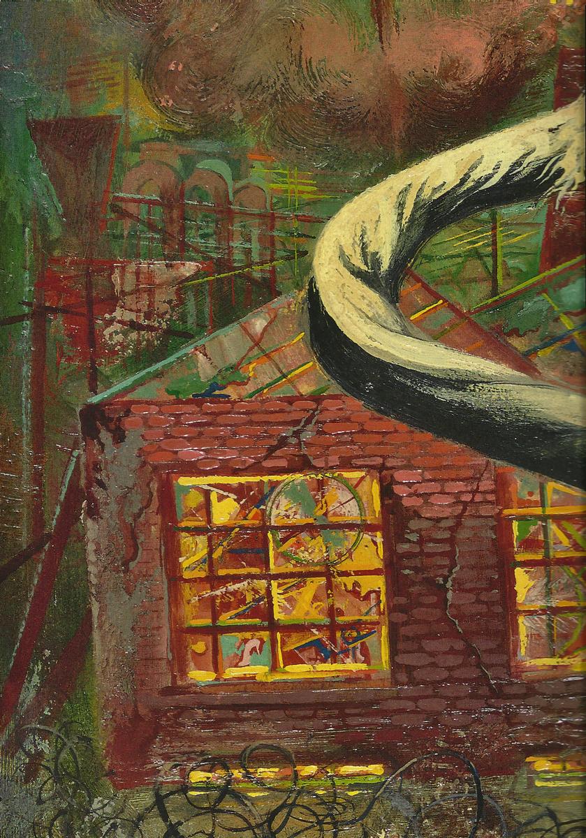 George GROSZ (1893-1959)Oil on Masonite 76 x 55,6 cmCourtesy: Ralph Jentsch