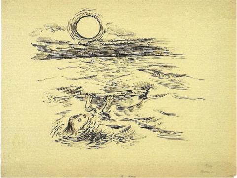 George GROSZ (1893-1959)Reed pen on paper48,1 x 63,6 cmCourtesy: Ralph Jentsch