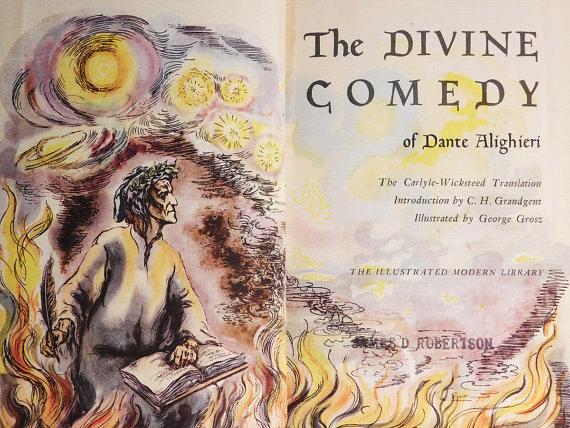 Dante ALIGHIERI (1265-1321)Illustrated by George GROSZ