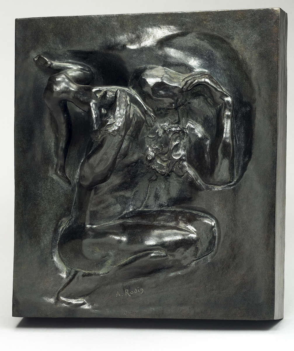 Auguste RODIN (1840-1917)Bronze16 1/8 x 14 1/2 x 5 1/4 in. (41 x 36,9 x 13,5 cm)Ed. 8 + 4APCast in 1984 by Fonderie de Coubertin, ParisInscribed 'A. Rodin', © by Musée Rodin and numbered Ed. 7/8One of the eight examples in Arabic numerals, dated and stamped with foundry markPlease click HERE for full fact sheet