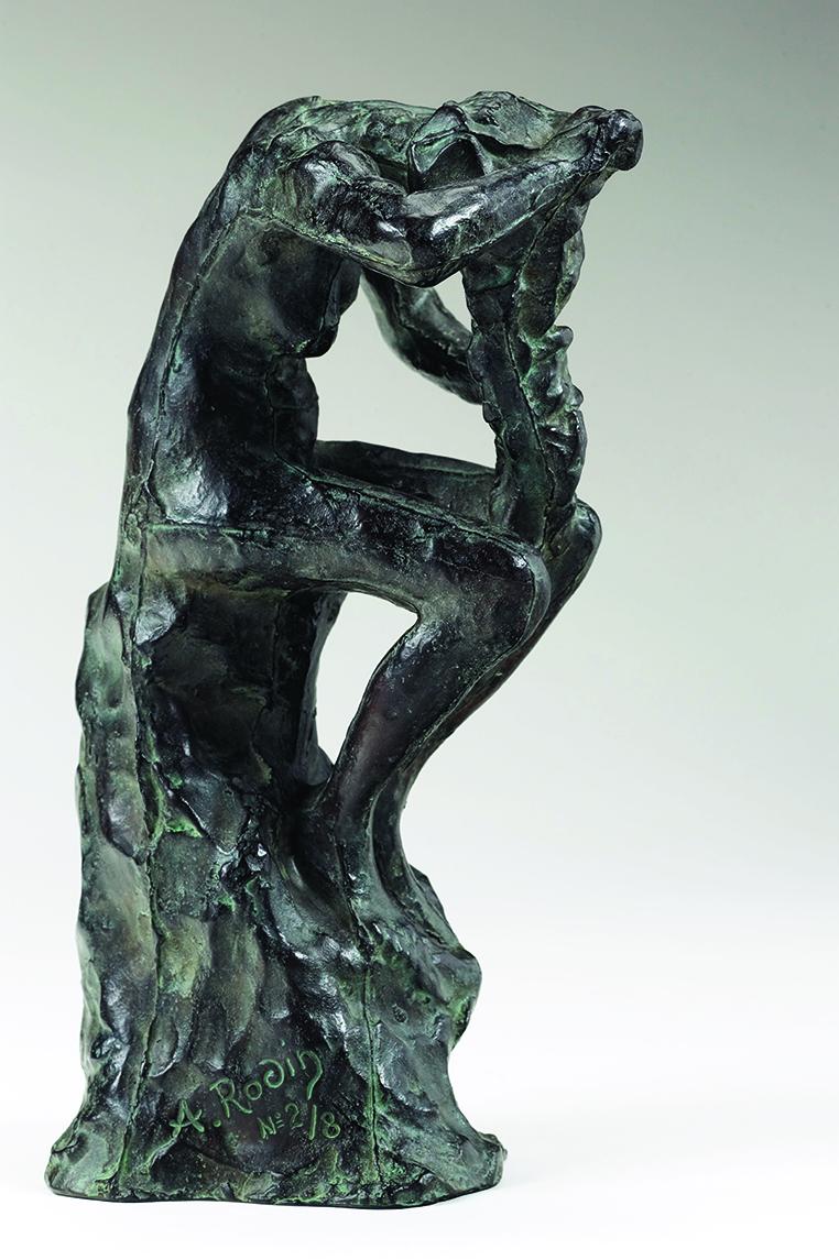 Auguste RODIN (1840-1917)Bronze24 x 14,5 x 13,7 cmFonte GodardEd. 3/8, © by Musée Rodin 2002