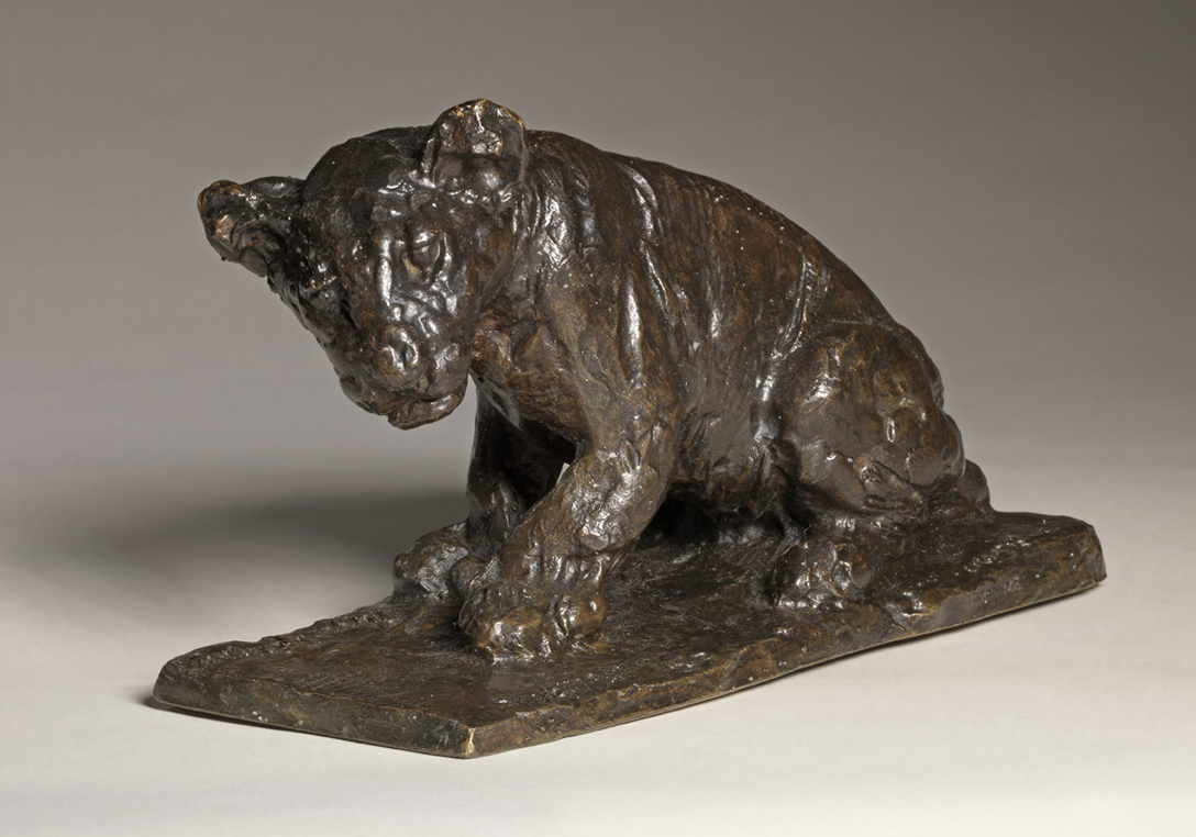 Roger GODCHAUX (1878-1958)Bronze19 x 15 cmBronze