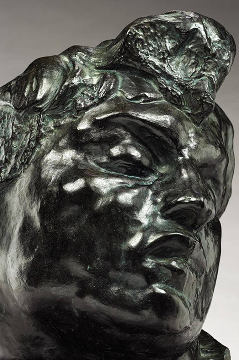 Auguste RODIN (1840-1917)Bronze37,6 x 28,4 x 32,5 cmFonte GodardEd. 5/8, © by Musée Rodin 1988