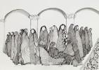 Amira BEHBEHANI (b. 1964)Ink on paper Image size:  20.9 x 29.7 cmFramed:  40 x 50 cm