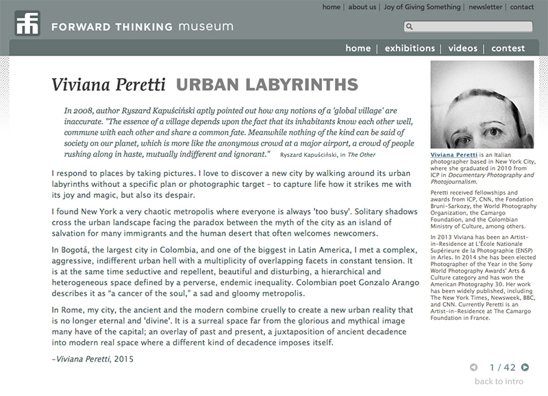 Urban Labyrinths at The Forward Thinking Museum. See more at: http://www.forwardthinkingmuseum.com/exhibitions/solo_peretti_01.php