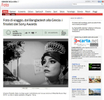 2014 SONY WORLD PHOTOGRAPHY AWARDS' Winners on Il Corriere della Sera website.