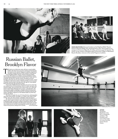 Learning Grace featured on THE NEW YORK TIMES on November 2011. See more at: http://www.nytimes.com/slideshow/2011/11/27/nyregion/school-of-russian-ballet.html?