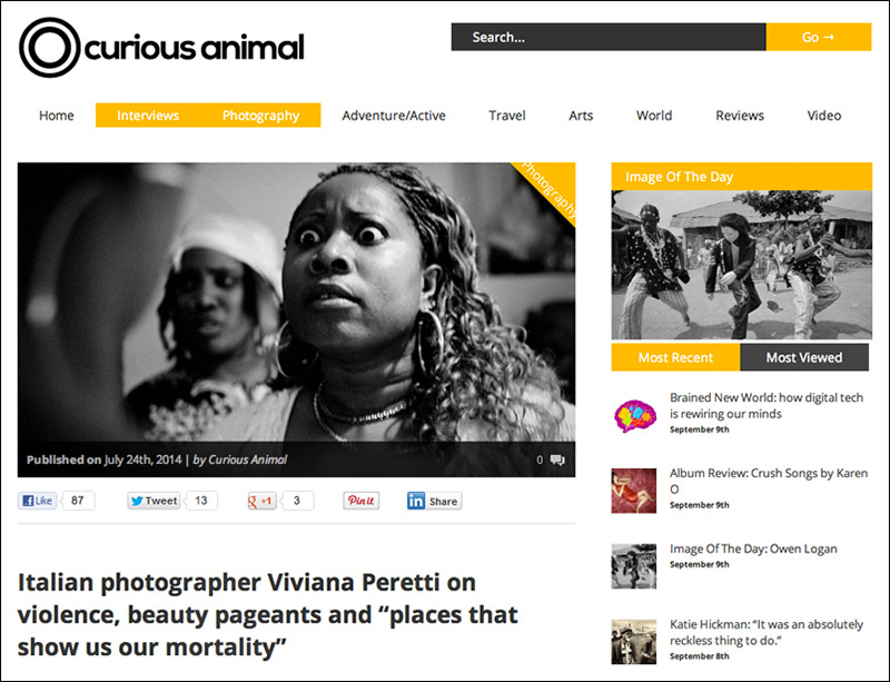 An interview with CURIOUS ANIMAL in London, July 2014. See more at: http://www.curiousanimal.com/viviana-peretti-the-situation-in-colombia-is-an-invisible-tragedy/
