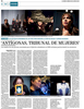 Antígonas, Tribunal de Mujeres featured on El Mundo in Spain. See more at: http://www.elmundo.es/internacional/2015/06/27/