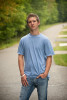 Zach Reidinger, 17, from Lake Forest, Calif., is outside of his lake front cottage in Suring, Wisconsin on Tuesday, August 31, 2010. Reidinger is about to become a high school senior and is excited for memories to come.