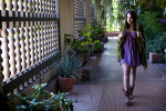 Tamar Tami Sasson, 21, from Channel Islands, Calif., is walking through the Balboa Park Botanical Gardens enjoying the extravagant life in plants and people in San Diego, Calif., on Monday, July 11, 2011 while on a spontaneous trip from Ventura, Calif., with her friend, Meagan Reidinger. Sasson likes to experience all walks of life.
