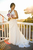 Bride, Eva Wu, 30, from El Monte, Calif., is grasping the last sun rays of her single life before walking down the aisle to her groom, Jeff Grant, 38, from Huntington Beach, Calif., at an ocean view home in Malibu, Calif., on Saturday, October 27, 2012. Wu's father came from China just to see his little girl get married.