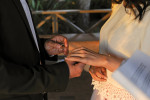 A sweet and wonderful couple proclaimed their wedding vows during a golden sunset under the Laguna Beach Gazebo in Laguna Beach, Calif., on Thursday, August 13, 2015.  So excited to have been a part of their beautifully intimate ceremony on the beach.