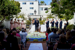 Justin Nebe, 33, marries his beautiful bride Danielle LeBeau, 25, at the intimate and historic Darlington House in La Jolla, Calif., on a warm summer day on Saturday, July 3, 2016.  The two met while ordering a hamburger in a restaurant LeBeau used to work at and have been inseparable since.  The newlyweds are looking forward to sharing their life together beginning on their honeymoon in Cancun, Mexico.  (Photo by: Meagan Reidinger © 2016)