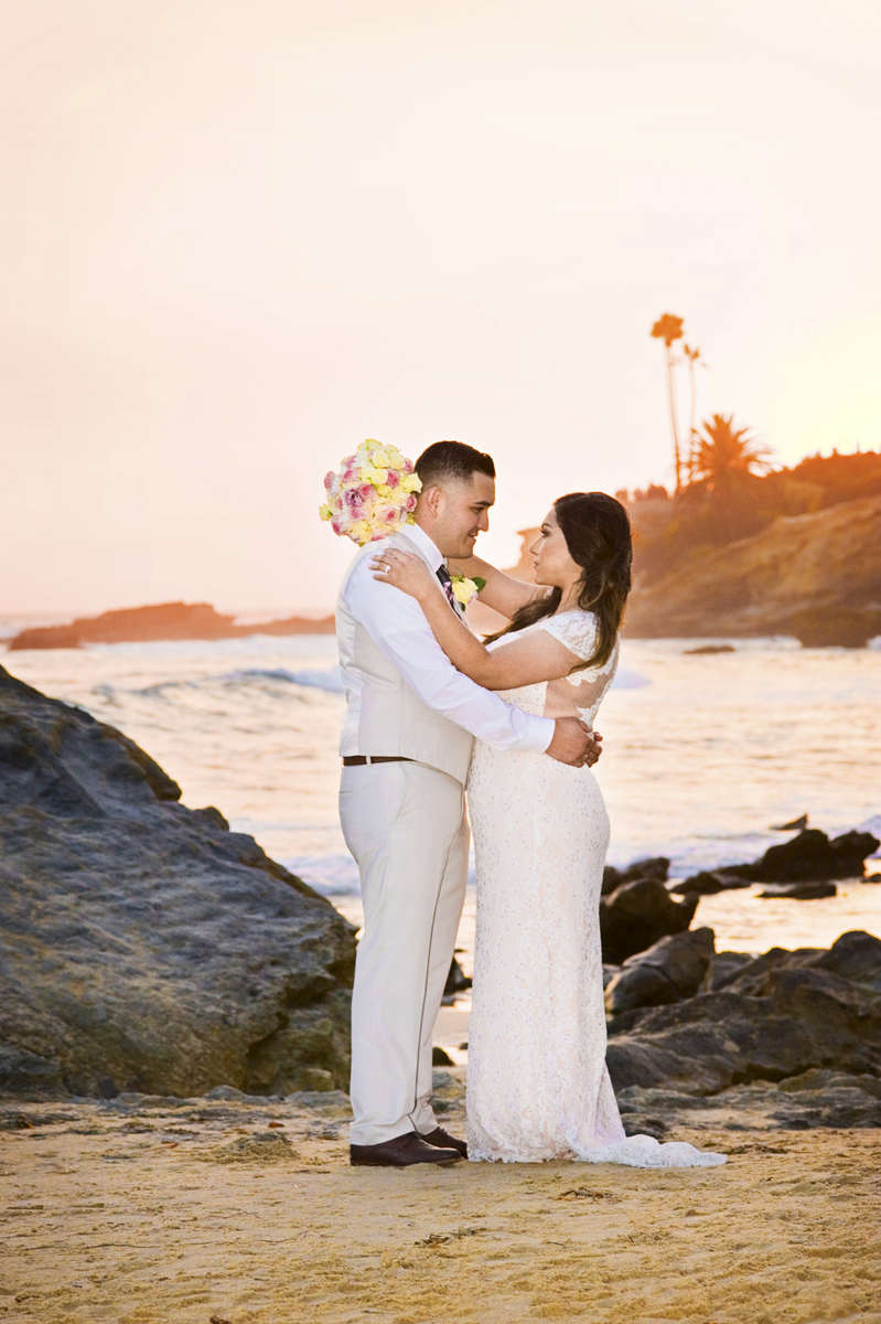 Rudy Avila, 27, and his bride, Yemeni Lopez, 25,from Rancho Cucamonga, Calif., were married at the Laguna Beach Gazebo in Laguna Beach, Calif., surrounded by their closest friends and family members on Saturday, August 20, 2016.  Avila and Lopez have been together for the past seven years after meeting at a mutual friends home and recently gave birth to their son, Jason Avila, 6 months.  The couple is excited to start their next chapter in life beginning with a large family reception equipped with tacos at their home.