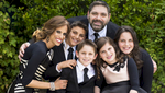 Yosef Berlin, 13, from Los Angeles, Calif., celebrates his Bar Mitzvah with friends and family at The Fig House in Los Angeles, Calif., on Sunday, June 11th, 2017.  Yosef had long distance travelers from New Jersey & Israel.  His surprise was the Photo Booth in a Volkswagen!  (Photo by: Meagan Reidinger © 2017)