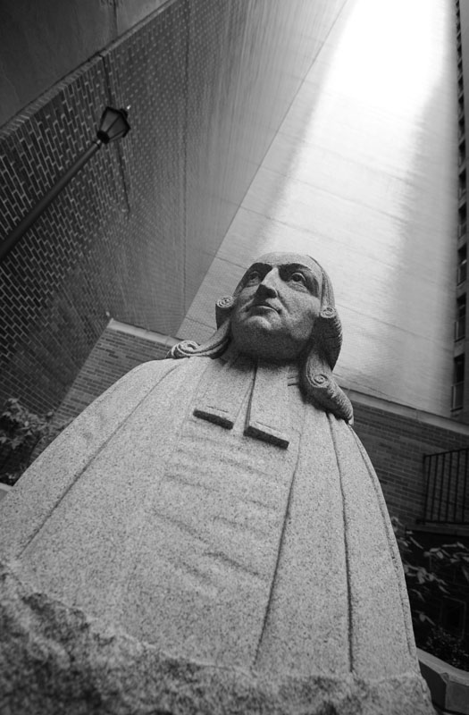 Bust of John Wesley, Methodist Church, John Street
