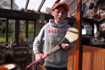 August 18 - Conor with Hurling Stick, Farmhouse, Kilkenny Co., IrelandPost a Comment