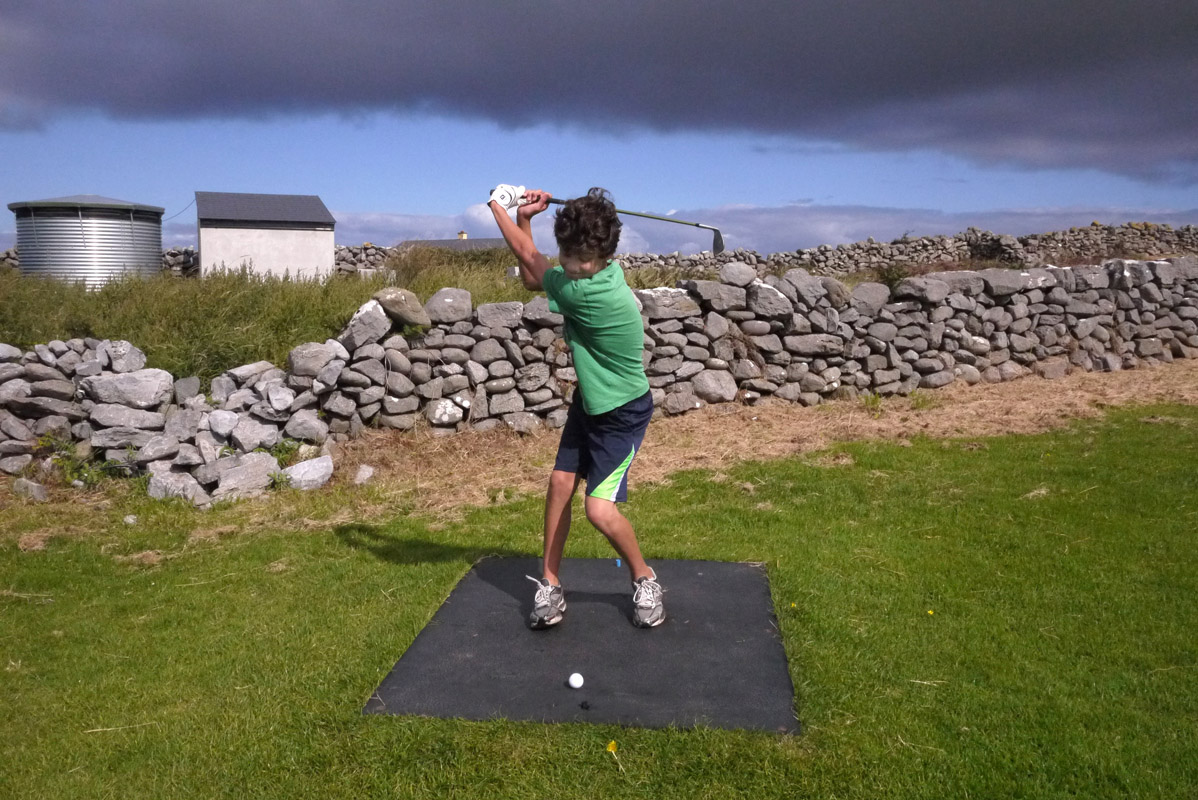 August 21- Pitch & Putt, Doolin, Co. Clare, IrelandPost a Comment