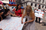 August 3 - People Sign Birthday Card for President Obama's 50th, Federal Hall, Wall StreetPost a Comment