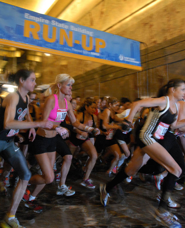 February 1 - Empire State Building Run - to the 86th Floor