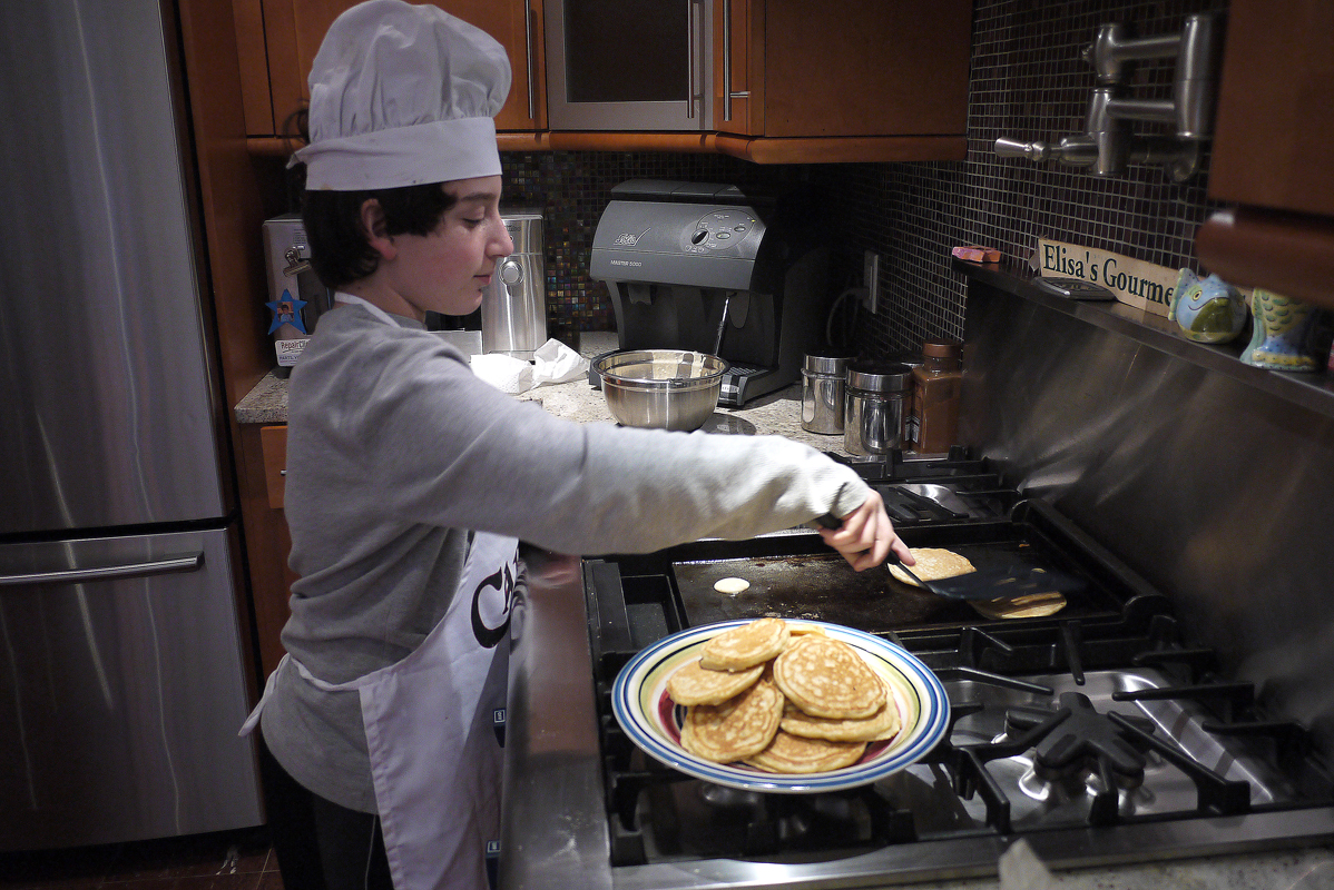 February 12 - Young Pancake Chef
