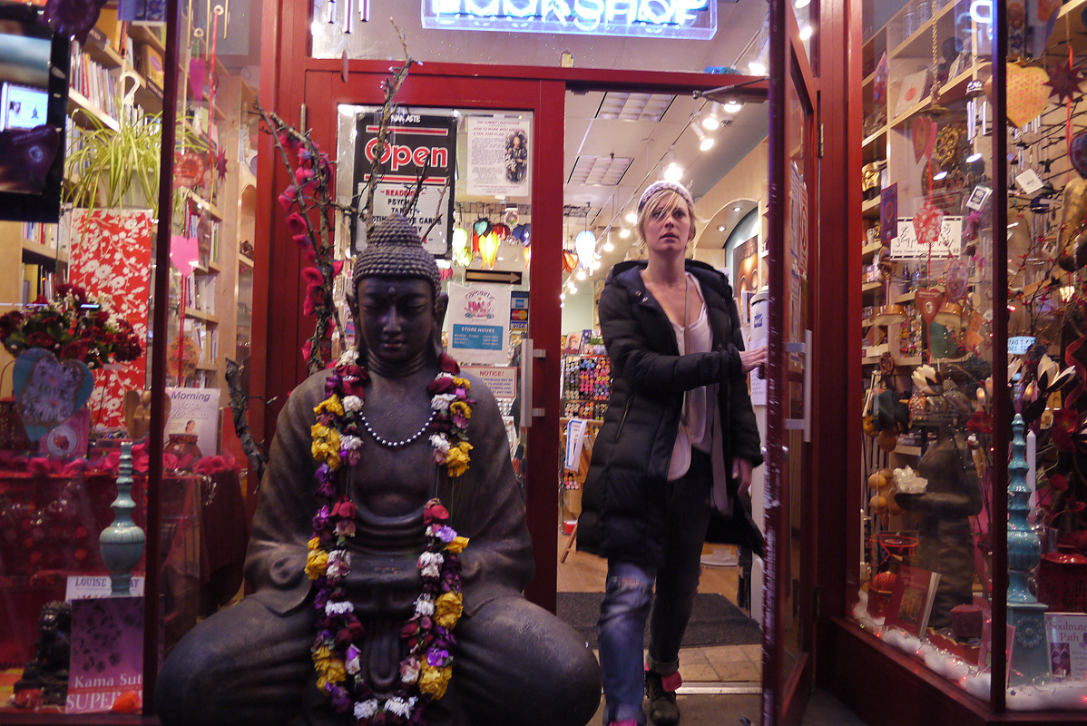 February 16 - Namaste Book Store, West 14th Street