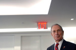 January 19 - New York City Mayor Michael R. Bloomberg at Ribbon Cutting Ceremony, 11 Times Square