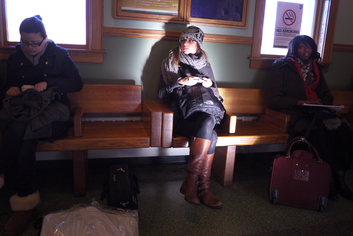 January 20 - LIRR Waiting Room, Huntington