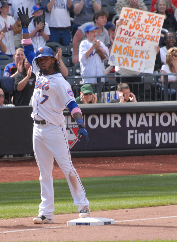 May 8 - Jose Reyes Triples on Mother's DayPost a Comment
