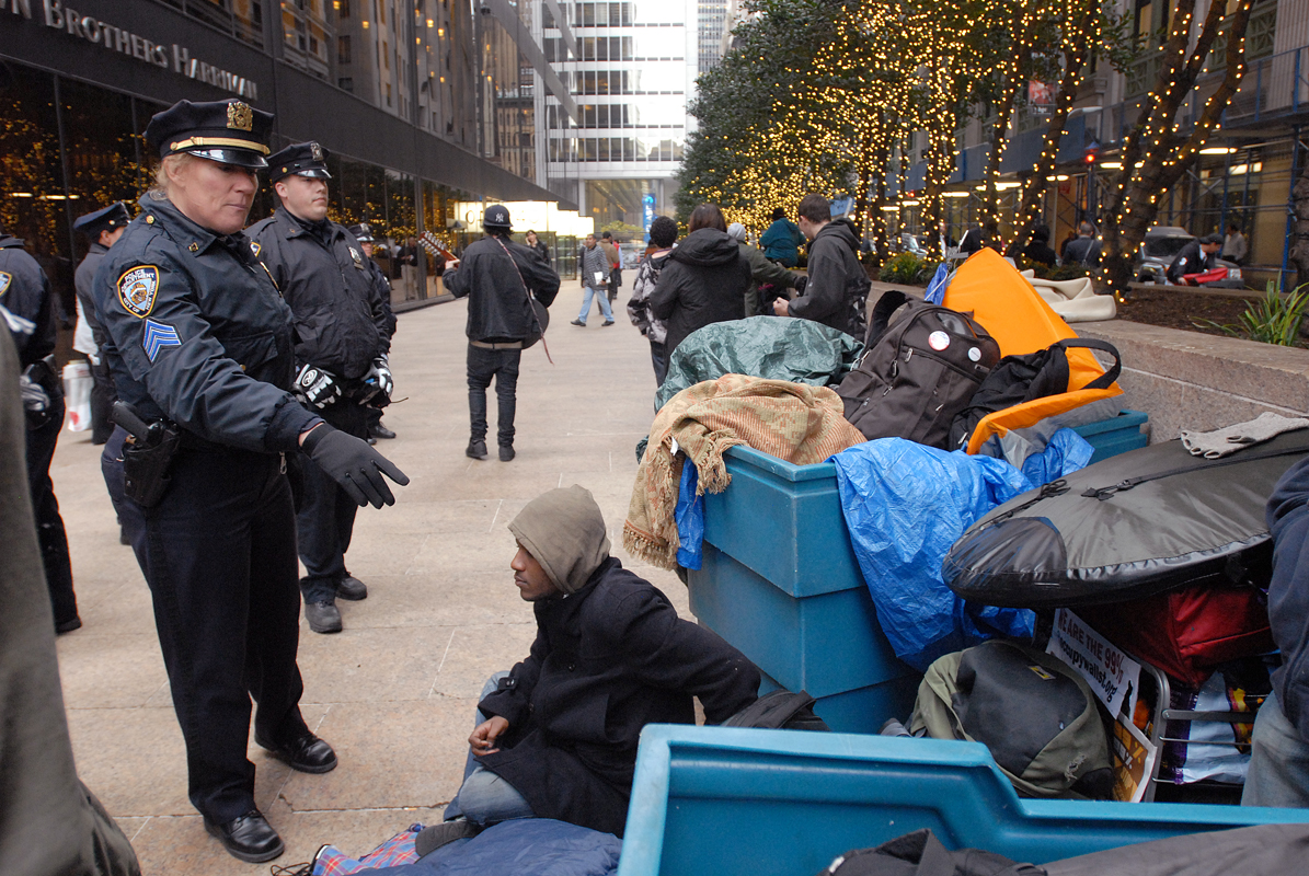 November 15 - Occupy Wall StreetPost a Comment