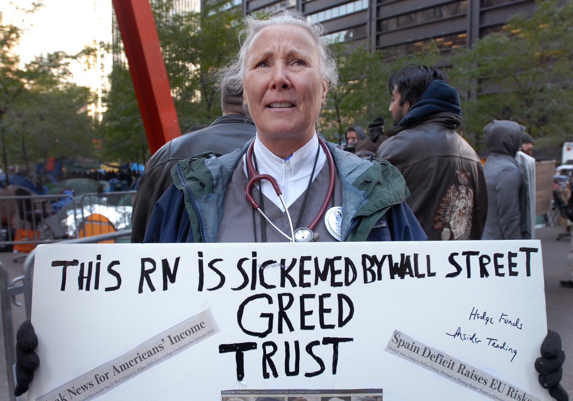 November 1 - Occupy Wall StreetPost a Comment