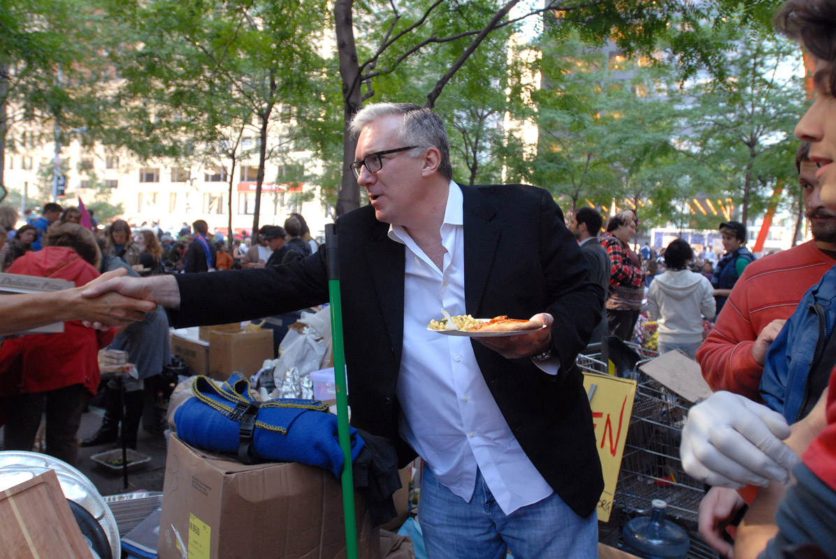 October 6 - Keith Olbermann Visits Occupy Wall StreetPost a Comment